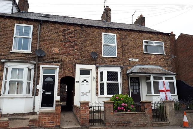 Thumbnail Terraced house to rent in York Road, Driffield
