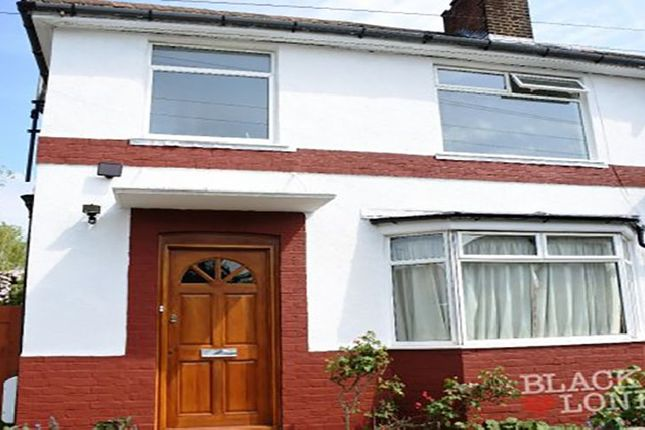 Thumbnail End terrace house to rent in Oakleigh Road North, London