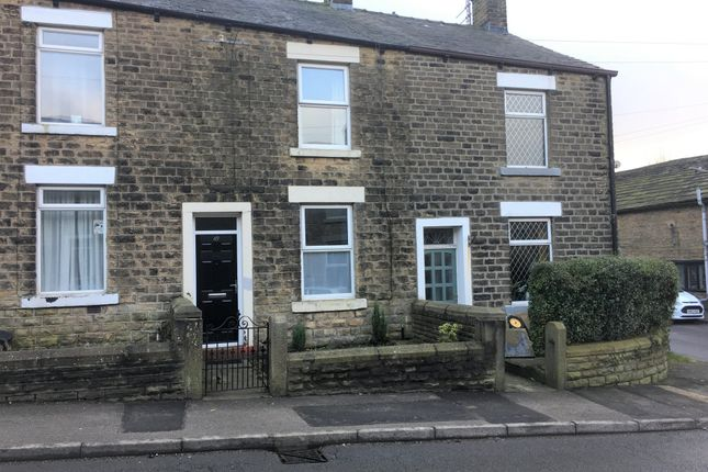 Thumbnail Terraced house to rent in Church Street, Hadfield, Glossop