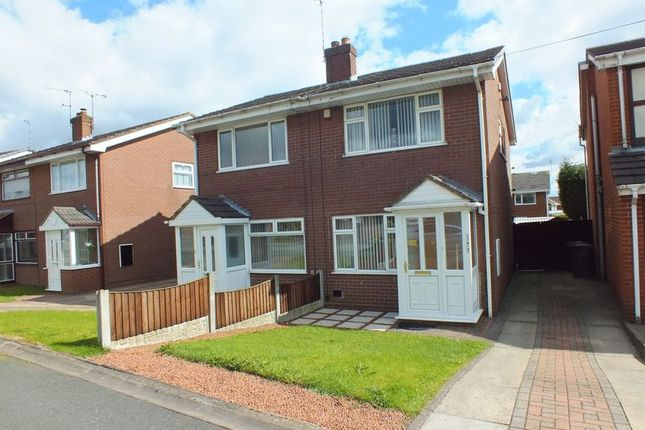 Thumbnail Semi-detached house to rent in Whitehill Road, Kidsgrove, Stoke-On-Trent