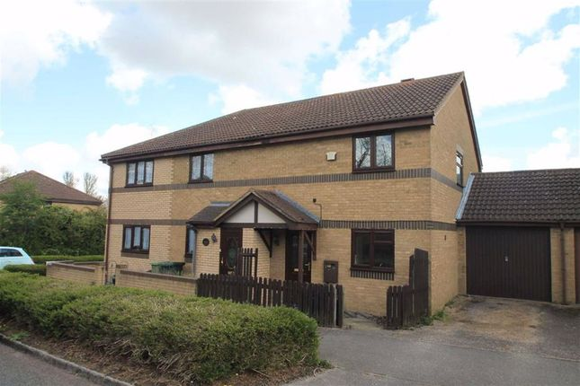 3 bed semi-detached house to rent in Fortescue Drive, Shenley Church End, Milton Keynes MK5