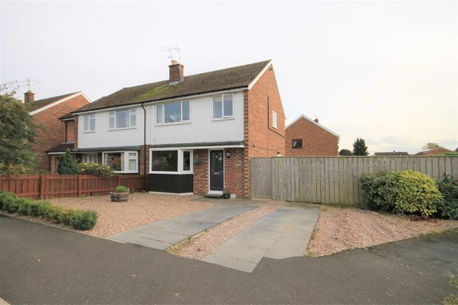 Thumbnail Semi-detached house for sale in Ormesby Crescent, Northallerton
