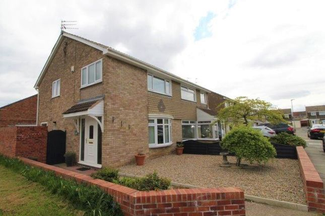Thumbnail Semi-detached house to rent in Kingfisher Way, Blyth