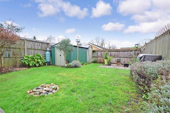 Rear Garden of Lunsford Lane, Larkfield, Kent ME20