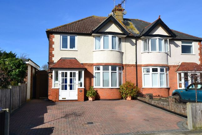 Thumbnail Semi-detached house for sale in St. Annes Road, Whitstable