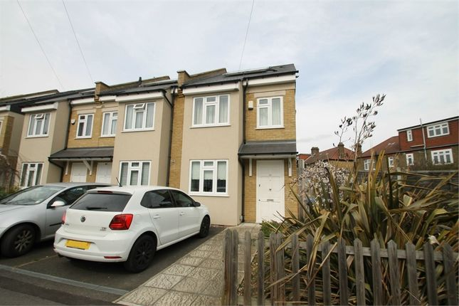 Thumbnail End terrace house to rent in Highfield Road, London