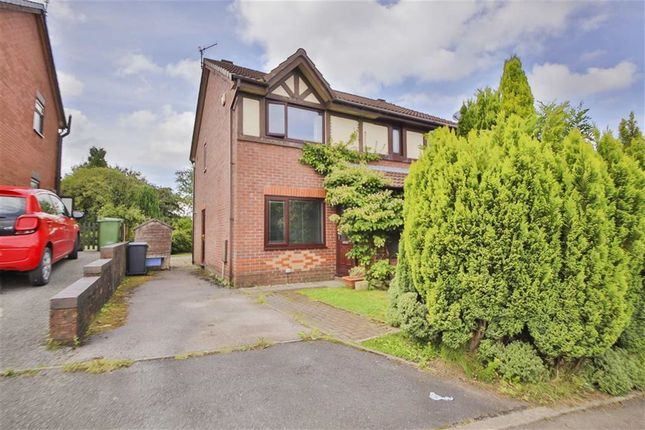 Thumbnail Semi-detached house for sale in Foxwood Chase, Accrington, Lancashire