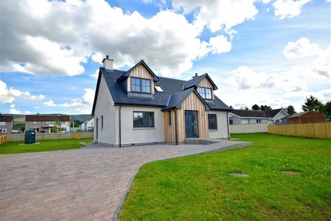 Thumbnail Detached house for sale in Kirk Road, Cromdale, Grantown-On-Spey