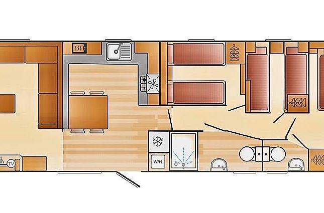 Floorplan of Kestrel Heights, Sandy Bay, Exmouth EX8