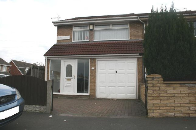 Thumbnail End terrace house to rent in Alma Close, Fazakerley, Liverpool, Merseyside