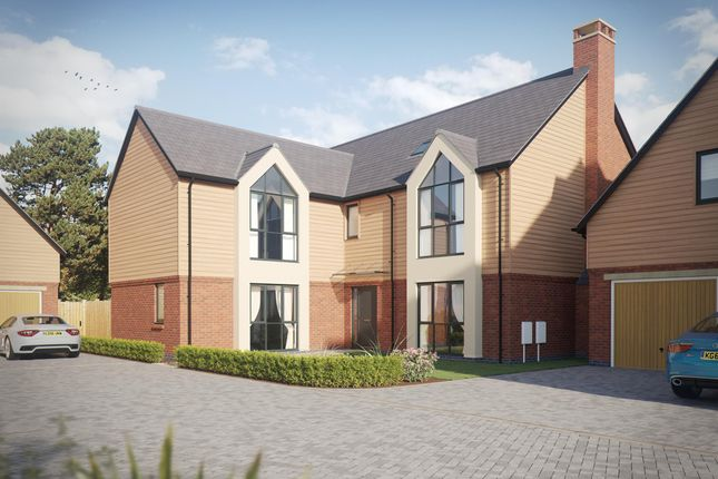 Thumbnail Detached house for sale in Alyesbury Court, Alyesbury Road, Lapworth