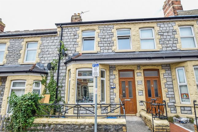 Thumbnail Terraced house to rent in Castleland Street, Barry