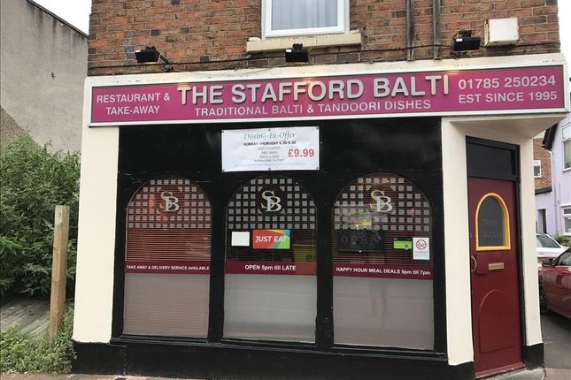 Restaurant/cafe for sale in Mill Bank, Stafford