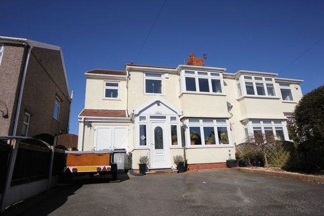 Thumbnail Semi-detached house for sale in Acton Lane, Moreton, Wirral