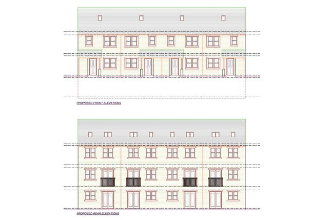 Thumbnail Town house for sale in Rawson Street, Wyke, Bradford