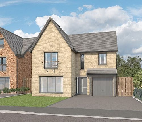 """Thumbnail Detached house for sale in """"The Willow At Cragside Gardens"""", Lordenshaw Drive, Rothbury, Morpeth"""