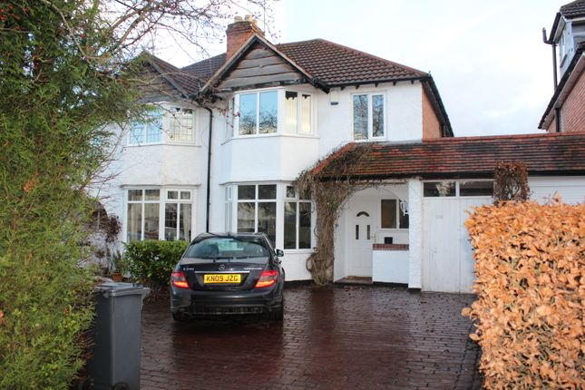 Thumbnail Semi-detached house to rent in Solihull Road, Shirley, Solihull, West Midlands