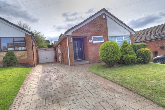 Thumbnail Detached bungalow for sale in Bardsley Gate Avenue, Matley, Stalybridge