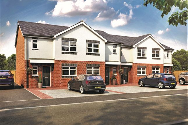 Thumbnail End terrace house for sale in Tollgate Meadows, Evenwood Gate, Bishop Auckland