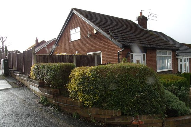 Thumbnail Semi-detached bungalow for sale in Grosvenor Road, Hyde