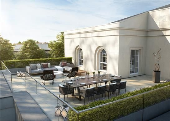 Thumbnail Flat for sale in Apartment 19, 27 Park Crescent, London