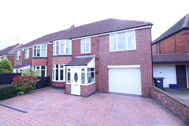 Thumbnail Semi-detached house for sale in Renishaw Avenue, Grange Estate, Rotherham, South Yorkshire