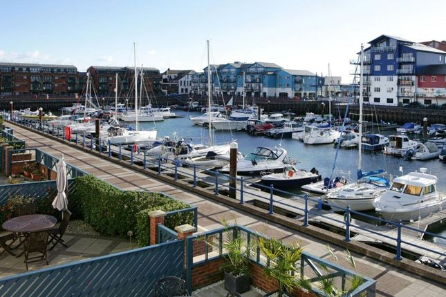 Thumbnail Terraced house for sale in Cutters Wharf, Shelly Road, Exmouth, Devon
