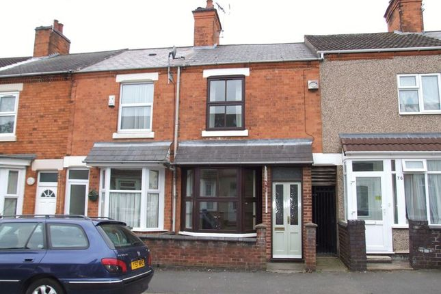 Thumbnail Terraced house to rent in King Edward Road, Rugby
