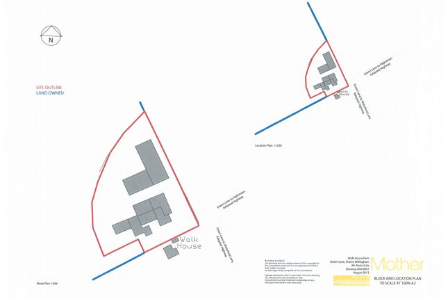 Thumbnail Land for sale in Green Lane, Cherry Willingham, Lincoln