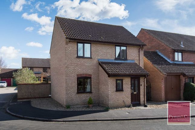 Thumbnail Detached house for sale in Highfields, New Costessey, Norwich