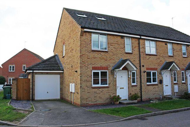 Thumbnail Semi-detached house for sale in Cherwell Road, Berinsfield, Wallingford
