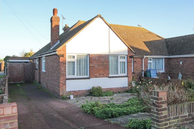 Thumbnail Semi-detached bungalow for sale in Noble Gardens, Margate