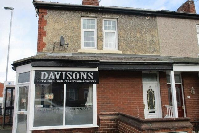 Thumbnail Flat to rent in Plessey Avenue, Blyth