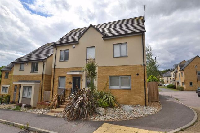 Thumbnail Detached house for sale in Glanville Crescent, Chrysalis Park, Stevenage, Herts