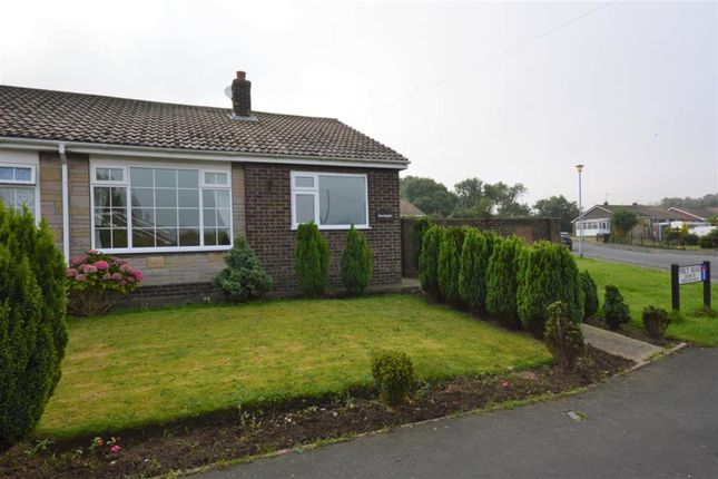Thumbnail Semi-detached bungalow to rent in Percy Road, Hunmanby, Filey