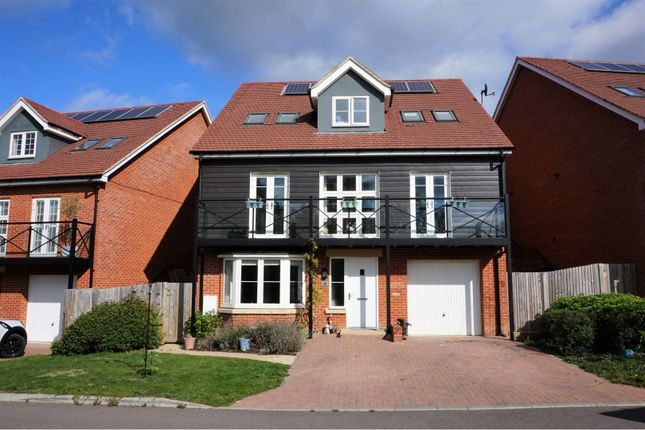Thumbnail Detached house for sale in Channer Gardens, Fleet