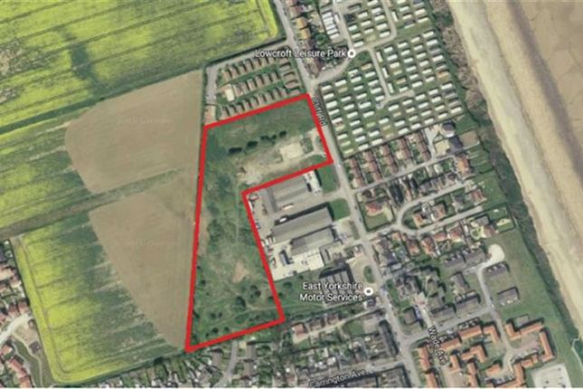 Thumbnail Land for sale in Cliff Road, Hornsea, East Yorkshire