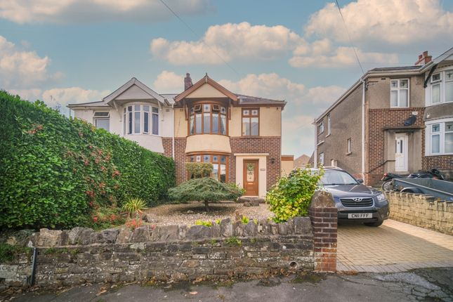 4 bed semi-detached house for sale in Longford Road, Neath Abbey, Neath SA10