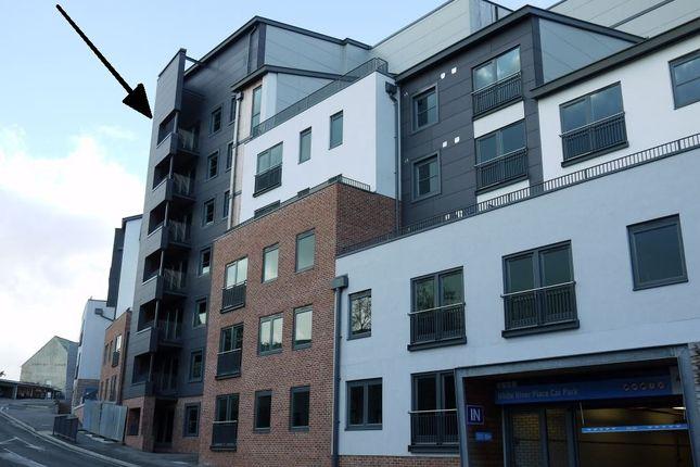 Thumbnail Flat to rent in Trelawney House, Trinity Street, St Austell, Cornwall
