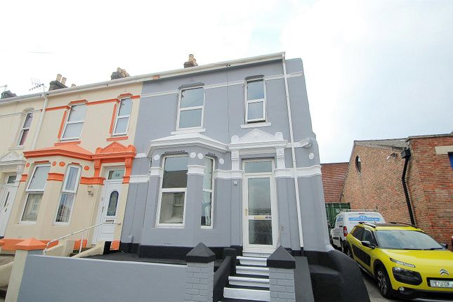 Thumbnail End terrace house for sale in Alvington Street, Plymouth