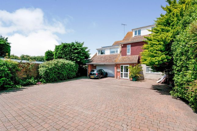 Thumbnail Detached house for sale in Pevensey Bay Road, Eastbourne