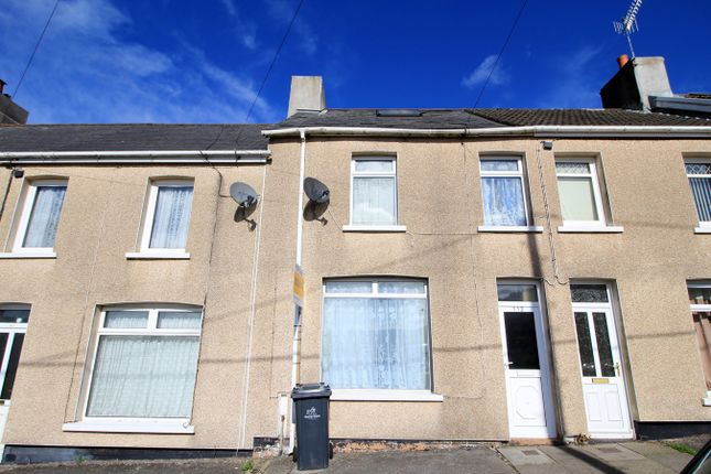Thumbnail Terraced house for sale in Lewis Street, Crumlin, Newport