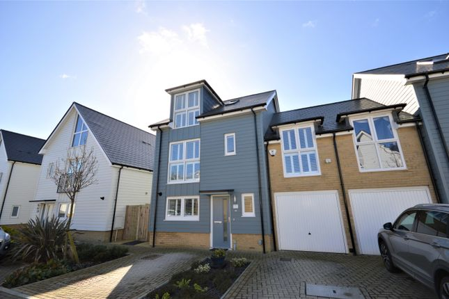Thumbnail Link-detached house for sale in Trinity Drive, Folkestone, Kent