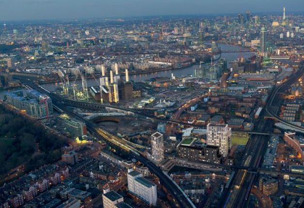 Thumbnail Office for sale in Block C, Battersea Exchange, Battersea Park Road, Battersea
