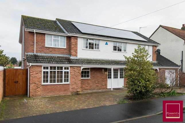 Thumbnail Detached house for sale in Fairstead Road, Sprowston, Norwich