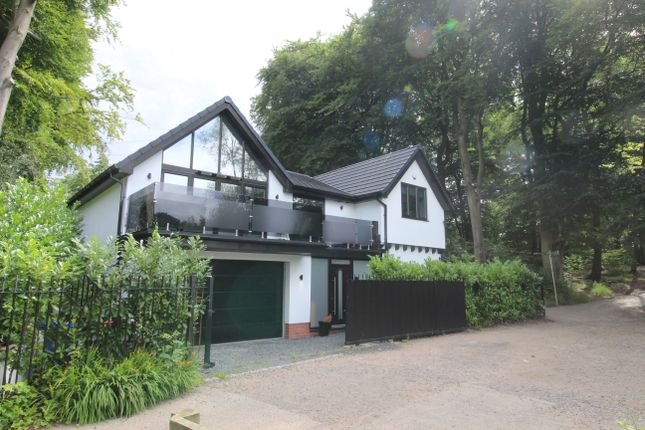 Thumbnail Detached house for sale in Old Warke Dam, Worsley, Manchester