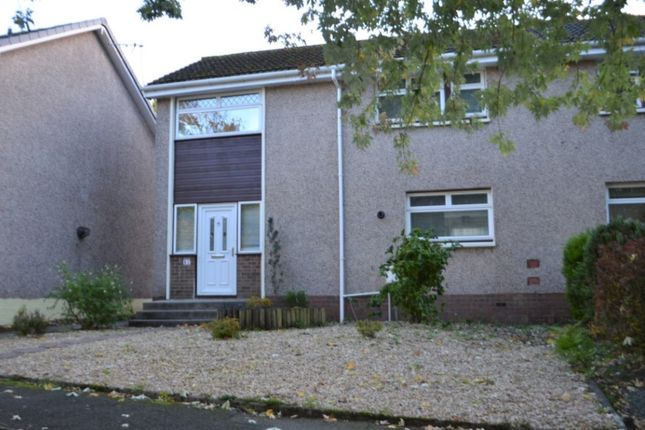 Thumbnail End terrace house to rent in Finistere Avenue, Falkirk