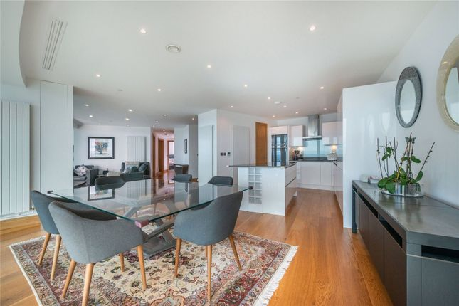 Thumbnail Flat for sale in Arena Tower, 25 Crossharbour Plaza, London
