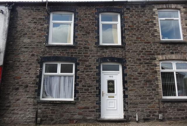 Thumbnail Terraced house to rent in Wood Road, Treforest, Pontypridd