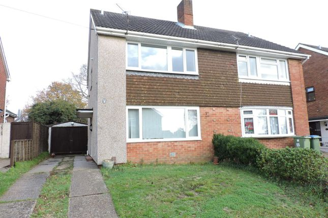 Thumbnail Semi-detached house to rent in Winnham Drive, Fareham